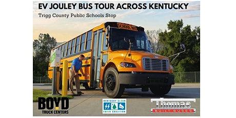 Jouley/Electric Bus Tour  - Trigg County Public Schools Stop! tickets