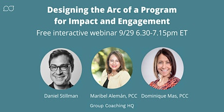 Designing the Arc of a Program for Impact and Engagement tickets