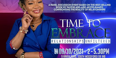 Time To Embrace - Relationships Unfiltered tickets