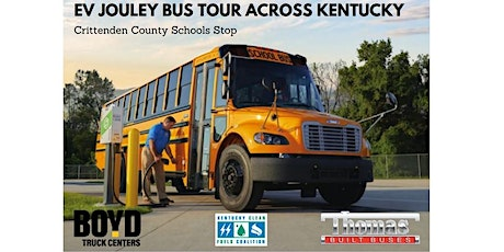 Jouley/Electric Bus Tour  -  Crittenden County Schools Stop! tickets