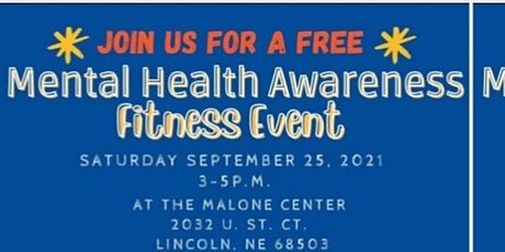 Malone Mental Health Awareness Fitness Event tickets