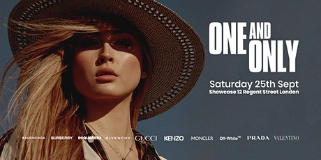 The One and Only Designer sale at Showcase Saturday 25th  September  2021 tickets