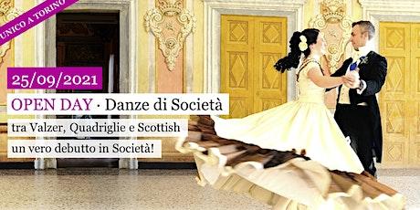 OPEN DAY Danze Ottocentesche (GREEN PASS obbligatorio) biglietti