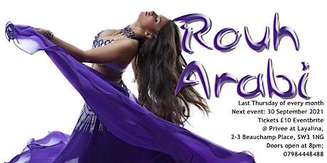 Rouh Arabi tickets
