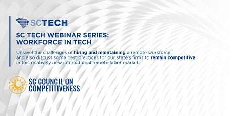 SC Tech Webinar Series: Retention and Culture in a Remote Working World tickets