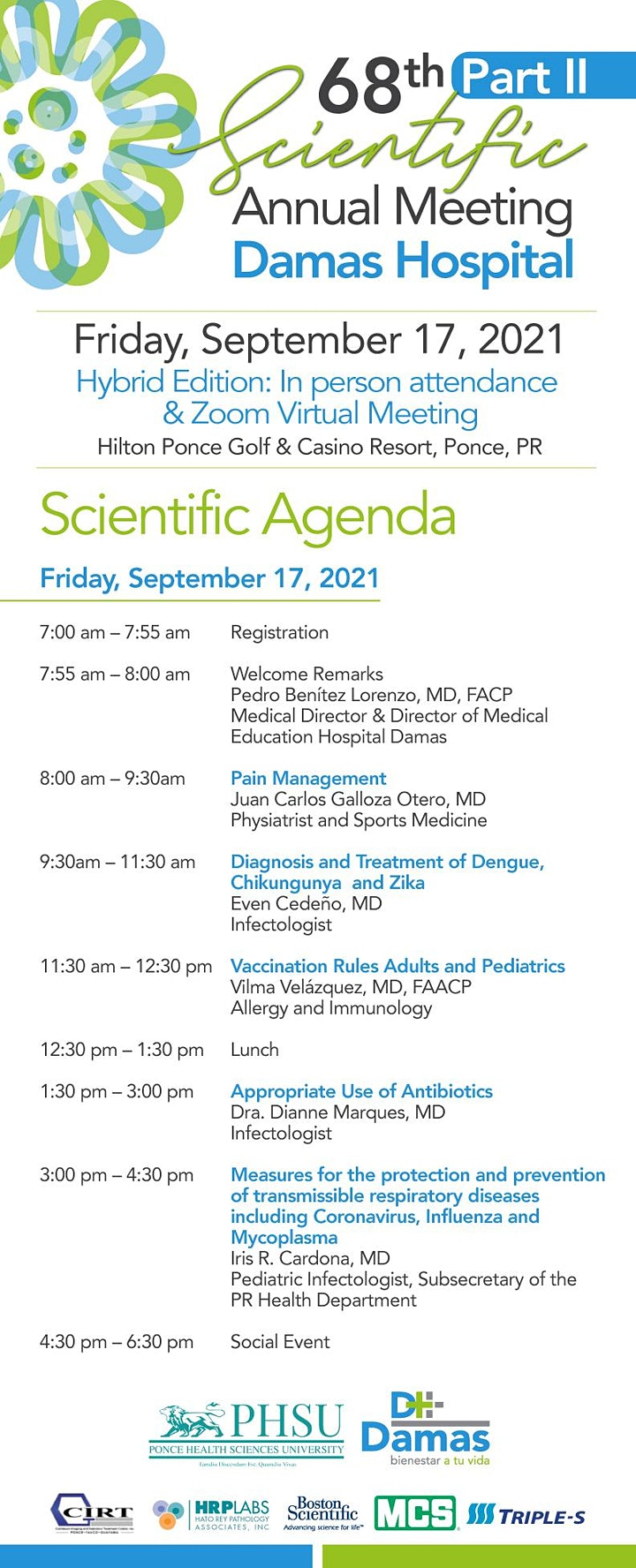 68th Scientific Annual Meeting Part II, Hybrid Edition 09.17.2021 image