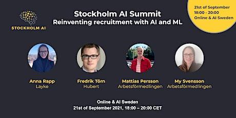 Stockholm AI Summit - AI in Recruitment tickets
