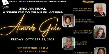 NCBW Harrisburg Chapter - 3rd Annual Tribute to Trailblazers Awards Gala tickets