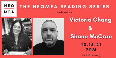 NEOMFA Reading Series: Victoria Chang and Shane McCrae tickets