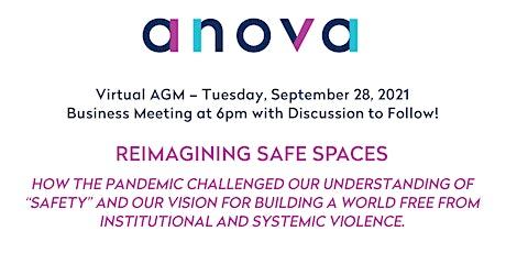 Anova: A Future Without Violence -  Virtual AGM tickets