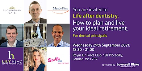 Life After Dentistry - How To Plan & Live Your Ideal Retirement tickets