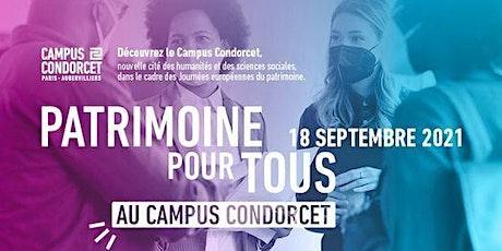 Journée du patrimoine - Campus Condorcet billets