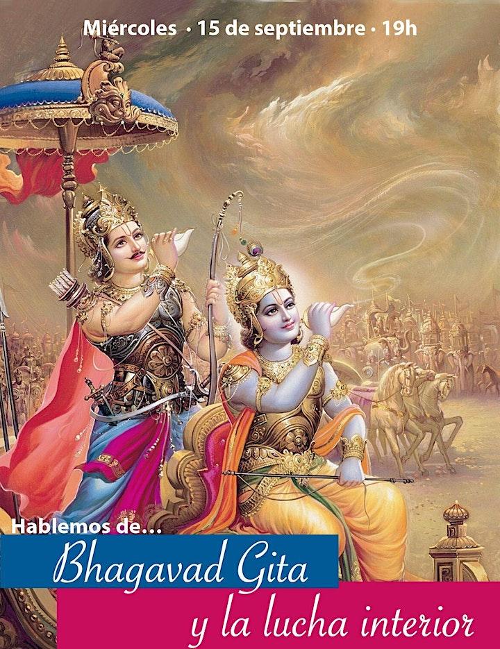 Imagen de Espacio de diálogo: «El Bhagavad Gita y la lucha interior»