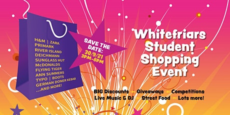 Whitefriars Student Shopping Event 2021 Goody Bags tickets