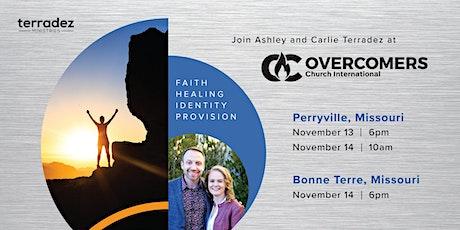 Ashley & Carlie Terradez at Overcomers Church tickets