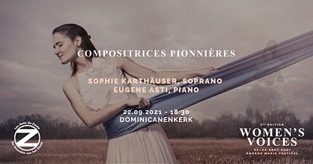 Sophie Karthauser: Compositrices pionnières tickets