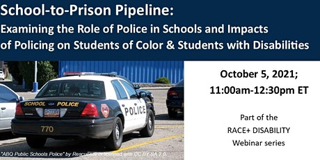 School-to-Prison Pipeline: Examining the Role of Police in Schools tickets