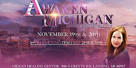 Awaken Michigan with Jennifer Martin tickets