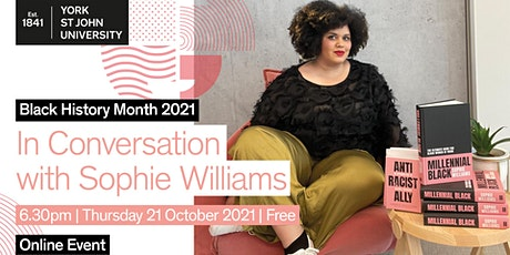 In Conversation with Sophie Williams tickets