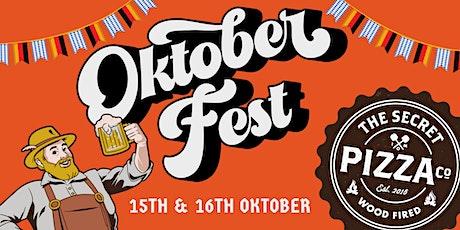 Oktoberfest @ Secret Pizza (SATURDAY) tickets