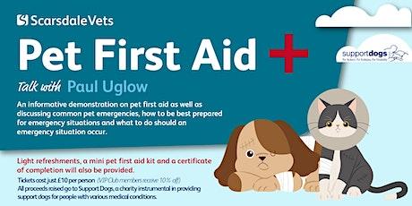 Pet First Aid Talk tickets