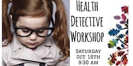 Health Detective Workshop tickets