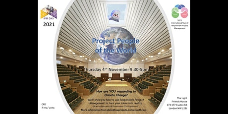 Project People of the World:How are YOU responding to Climate Change? tickets