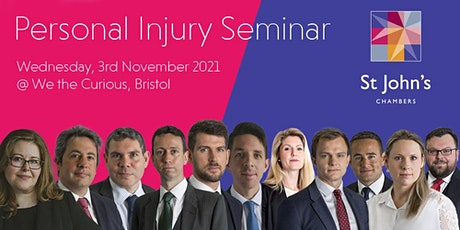 Personal Injury seminar tickets