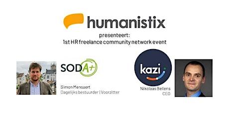 1st Humanistix HR freelance community network event tickets