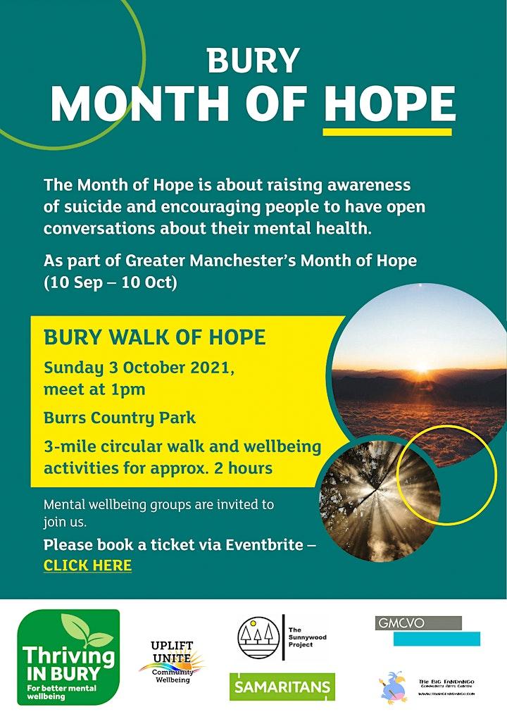 Bury Walk of Hope image