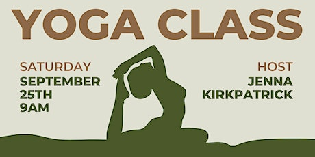 Yoga and Mimosas! 9/25 tickets