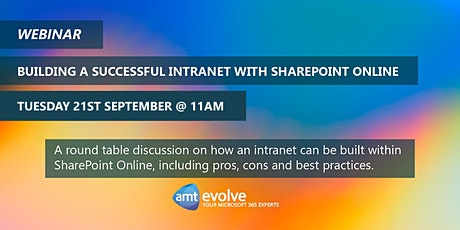 Build a Successful Intranet with SharePoint Online tickets