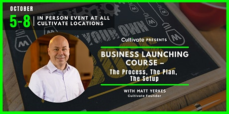 Business Launching Course –The Process, The Plan, The Setup - Hocking Hills tickets