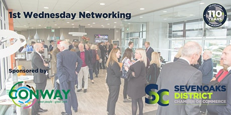 FIRST WEDNESDAY NETWORKING OCTOBER 2021 tickets