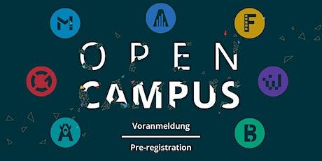 """SAE Institute Wien - """"OPEN CAMPUS DAY"""" - Voranmeldung / Pre-registration Tickets"""