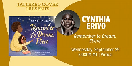 Livestream with Cynthia Erivo tickets