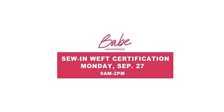 Babe Hair Extension Weft Certification Salem, NH tickets