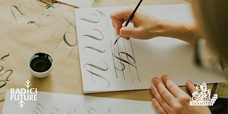 Riciclo e bella scrittura: laboratorio dimostrativo biglietti
