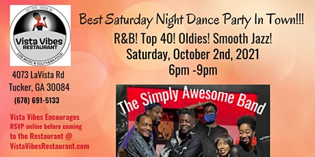 A Simply Awesome Band Dance Party @ Vista Vibes R& tickets