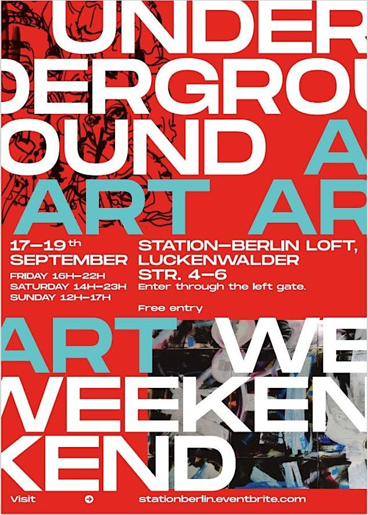 Berlin Underground Art Week @Station Berlin image