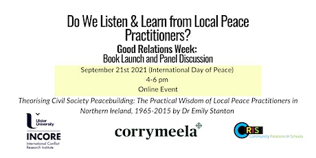 Do We Listen and Learn  from Local Peace Practitioners? Tickets