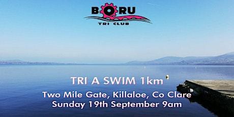 TRI A SWIM,  1km -End of season club training swim tickets