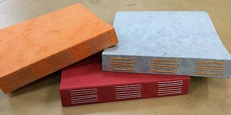 Workshop: Boekbinden: Longstitch binding tickets