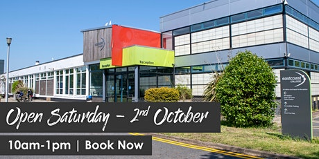 Open Saturday - Great Yarmouth campus tickets