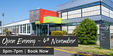 Open Evening - Great Yarmouth campus tickets