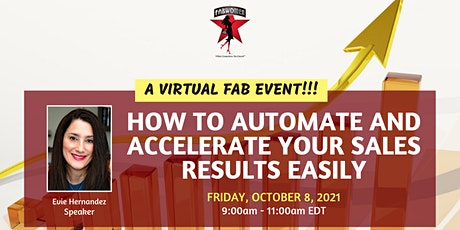 How to Automate and Accelerate Your Sales Results Easily tickets