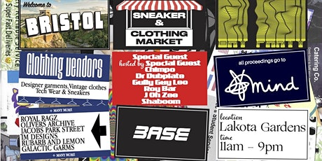 BASE presents: Charity Sneaker & Garment Market tickets