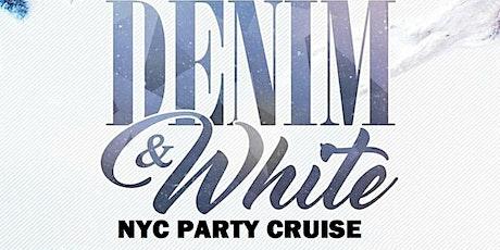 Denim & white Affair party Cruise new york city tickets