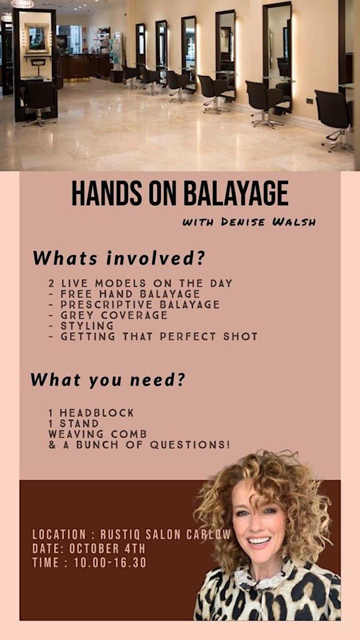 Prescription  Balayage with Denise Walsh image