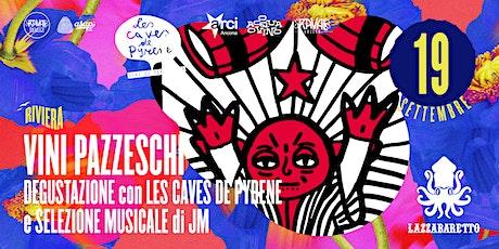 VINI PAZZESCHI della Riviera Occidentale. Degustaz. con Les Caves de Pyrene biglietti